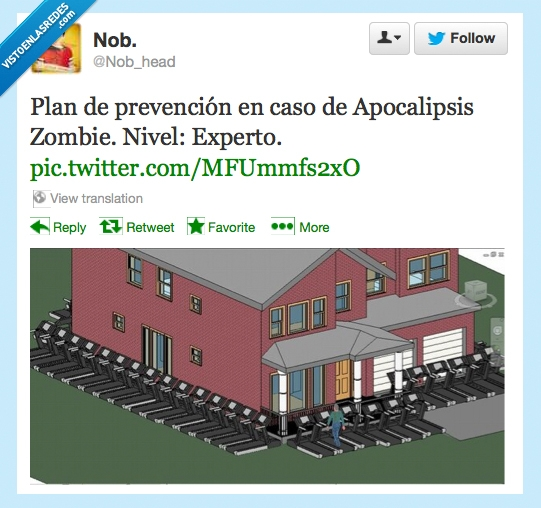casa,fuera,invasión,maquinas de correr,pared,zombie