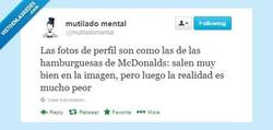Enlace a Todo mentira por @mutiladomental