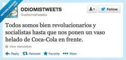 Enlace a Hasta ahí llega lo revolucionario por @ODIOMISTWEETS