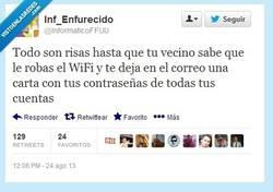 Enlace a TÚ sigue robando Wifi, sigue... por @informaticoFFUU