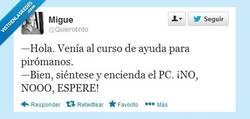 Enlace a ¡BOMBEROS! por @quierotinto
