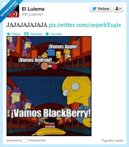 Android,Apple,Blackberry,platano,ralph,simpson