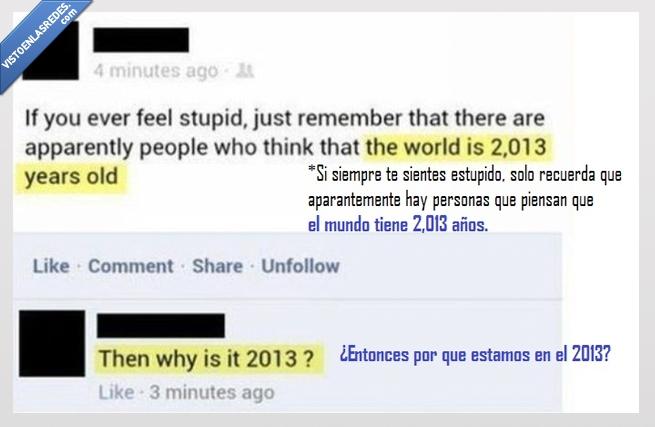 2013,años,estupido,mundo,pensar