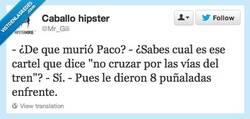 Enlace a Pobre Paco, era tan joven por @mr_gili