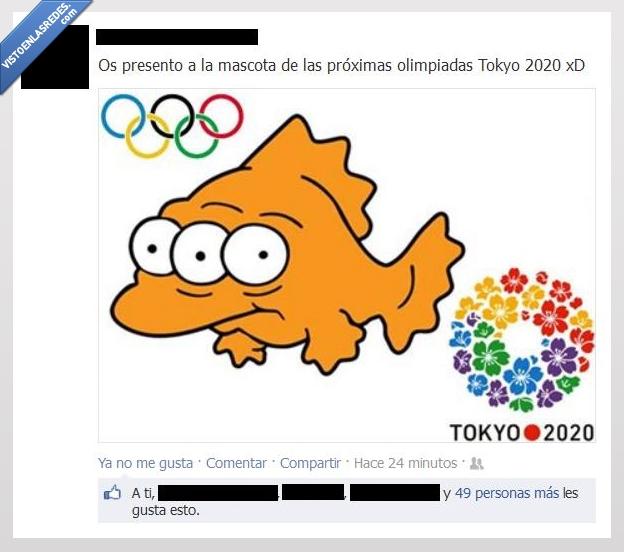 2020,fotos,fukushima,mascota,olimpiadas,radioactividad,tokyo