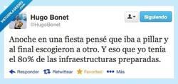 Enlace a Casi ligo... por @hugobonet