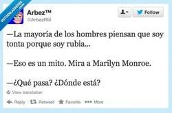 Enlace a Es que muy lista no eres... por @arbezRM