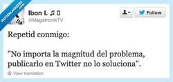 Enlace a Twitter no es un psicólogo por @megatronikTV