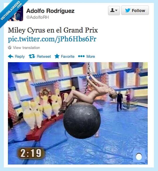 Grand Prix del Verano,Los Bolos,Miley Cyrus,Parodia,Videoclip