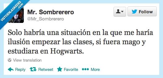 Harry Potter,Hogwarts,Vuelta al cole