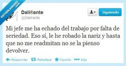 Enlace a Falta de seriedad dicen... por @Dalirante