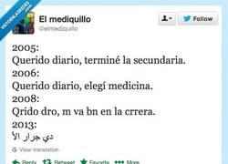 Enlace a Titulo de médico obtenido por @elmediquillo