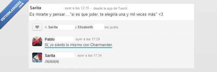 amor,Charmander,elegir,mil,moñas,pokemon,veces