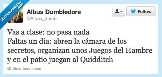 Cámara de los secretos,Clases,Hogwarts,Juegos del Hambre,Quidditch