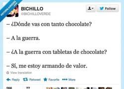 Enlace a Estoy listo para la guerra por @bichilloverde