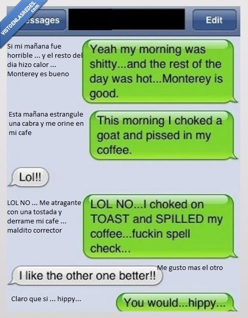 cabra,cafe,derramar,goat,hippy,orinar,toast,tostada