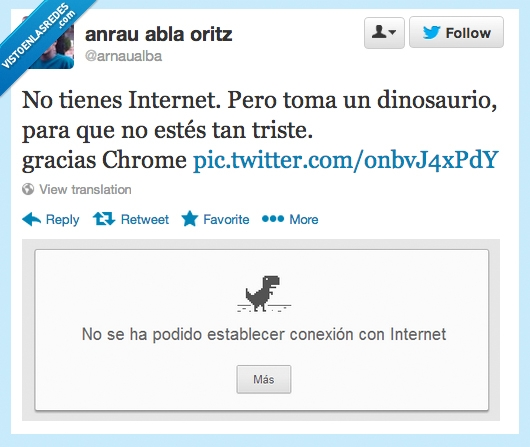 chrome,conexion,dinosaurio,google