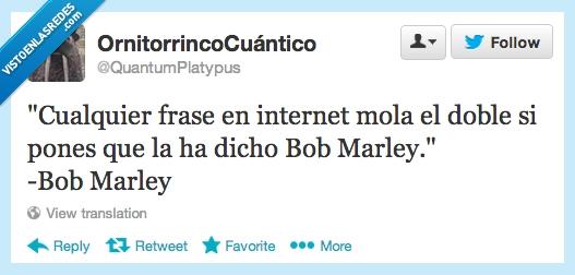 bob marley,cita,doble,frase,internet,mas,mola