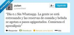 Enlace a El poder del WhatsApp por @JulianSlash