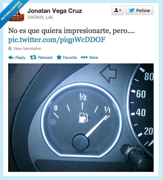 deposito,Gasolina,Impresionar,intención,Twitter