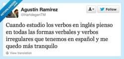 Enlace a Aprender los verbos en español es peor por @hartdegentm