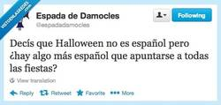 Enlace a ¿Halloween español? por @espadadamocles