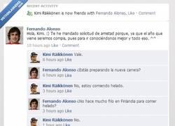 Enlace a Kimi y Fenando empiezan a conocerse mejor