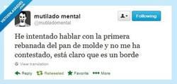 Enlace a Qué arisco... por @mutiladomental