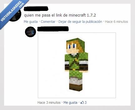 1.7.2,facebook,Link,Minecraft,troll,trolololololo,zelda