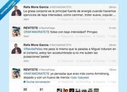 Enlace a Creo que @RevillaPetao no le tiene mucho cariño a @RafaMoraTETE