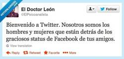 Enlace a Sean bienvenidos por @ElPsicoanalista