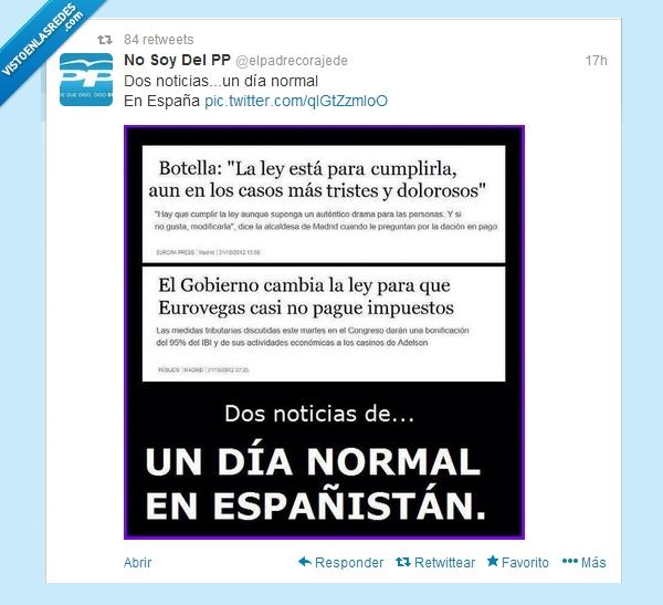 372393 - Caradura de los políticos es poco por @elpadrecorajede