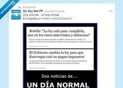 Enlace a Caradura de los políticos es poco por @elpadrecorajede