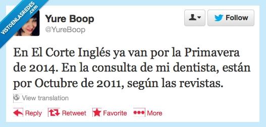 2011,2014,corte inglés,dentista,navidad,primavera,revista,riempo
