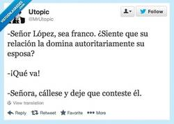 Enlace a La mujer de López por @MrUtopic