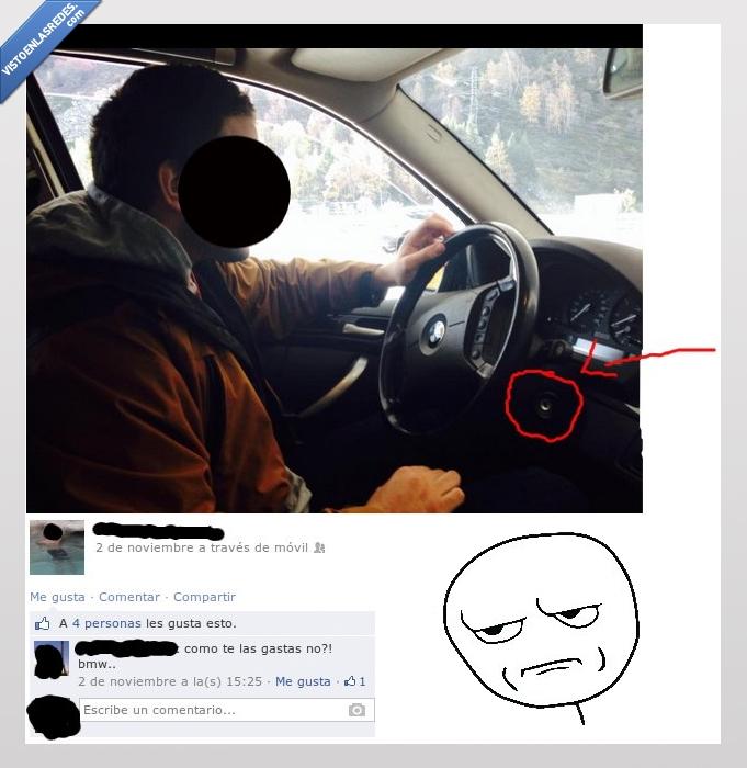 bmw,conduciendo,contacto,fail,fake,fantasma,llaves,mirando,parado,postureo