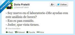 Enlace a En el laboratorio son muy de la broma por @SenoraFratelli