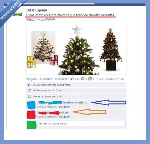 árbol,depresivo,Ikea,navidad,pobre,sádico