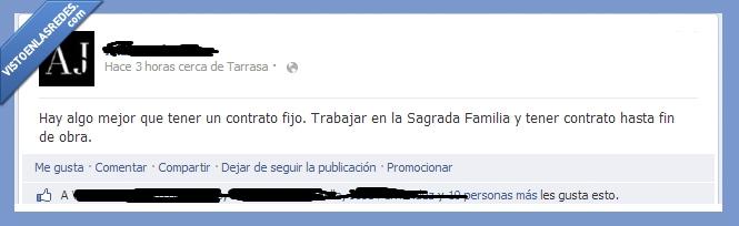 Contrato,fin,Not found,obra,Sagrada Familia,Trabajo