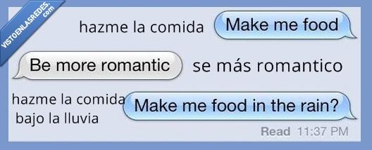 comer,comida,hacer,lluvia,romanticismo,sandwich,whatsapp