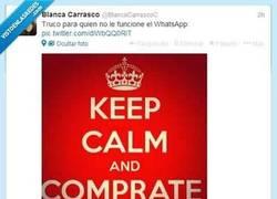 Enlace a Truco para que cuando no funcione el whatsapp por @BlancaCarrascoC