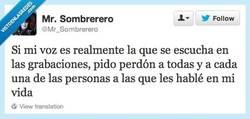Enlace a Cuando hablo no me suena así en mi cabeza por @Mr_Sombrerero
