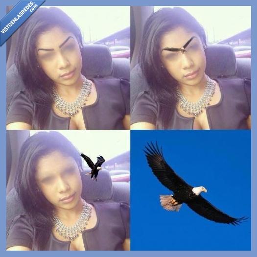 Aguila,cejas,Frente,pintadas,por qué te haces eso en la cara?,Real,tatuadas,tatuaje