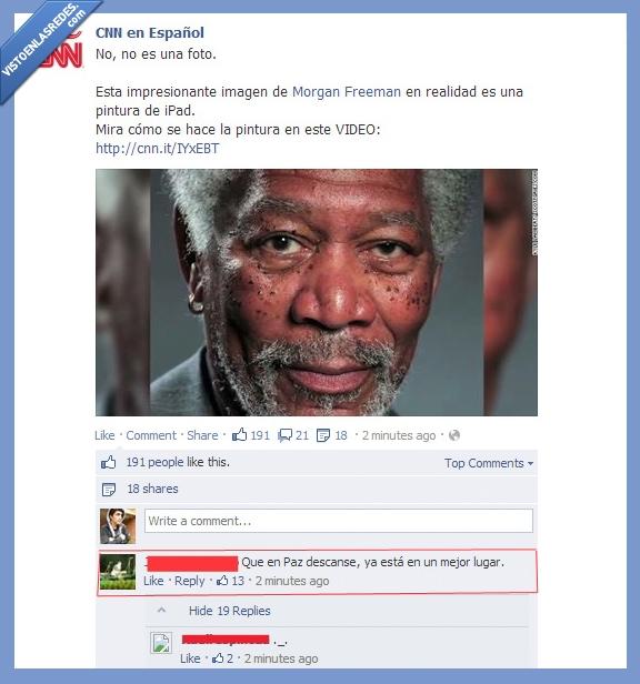 cnn,dibujo,facebook,ipad,mandela,morgan freeman,se equivoco de nigggga