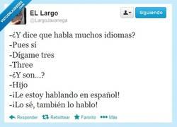 Enlace a Soy políglota, muy preparado por @LargoJavariega