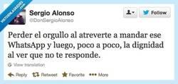 Enlace a Primero se pierde el orgullo y luego la dignidad por @DonSergioAlonso