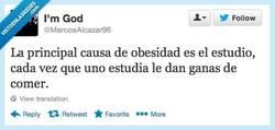 Enlace a La principal causa de obesidad por @MarcosAlcazar96