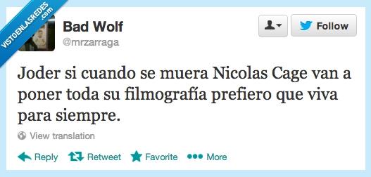 filmografía,inmortal,malas,malisimas,Nicolas Cage,peliculas,poner