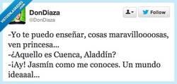Enlace a Aladdín, cómo eres... por @DonDiaza