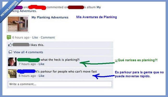 comentario,definicion,foto,parkour,planking,troll
